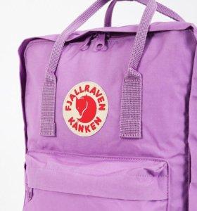 Качественный Рюкзак Kanken Classic Пурпурный