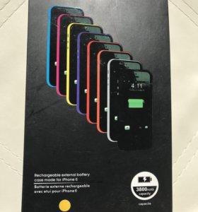 Дополнительный аккумулятор на iPhone 6:6s