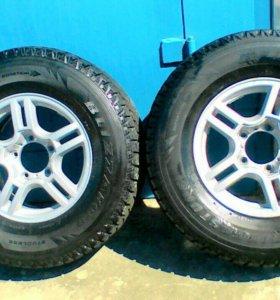 Резина на УАЗ, джипы, R16 265/70 Bridgestone