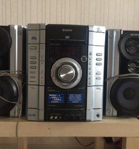 Музыкальный центр, мини hi-fi техника, Sony