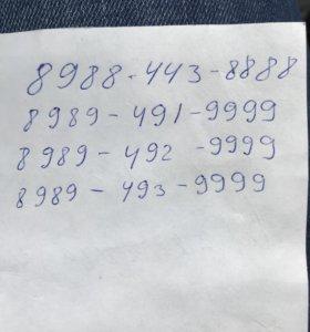 Элитные номера МТС