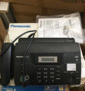Новый Факс на термобумаге Panasonic кх-fс982 RU-В