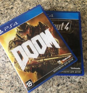 Doom и Fallout 4 для PlayStation 4