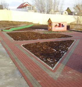 """Тротуарная плитка """"кирпич""""200*100*60"""