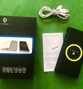 Беспроводная зарядка 10000 mAh Qi Compatible