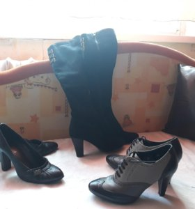 Туфли сапоги ботильоны