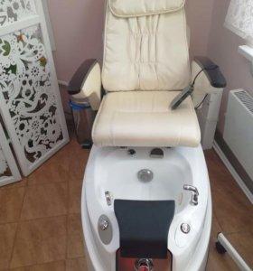 Кресло педикюрное с массажем