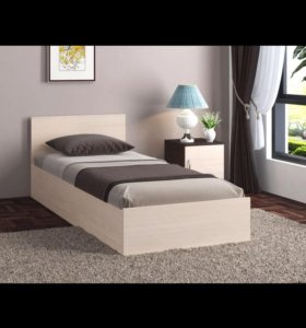 Кровать с матрасом 80*200