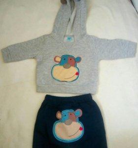 Набор (толстовка и спортивные штаны)