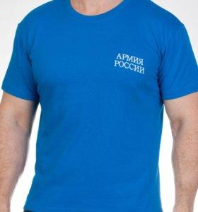 Футболка Армия России синяя