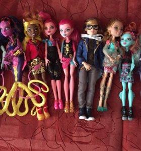Куклы Monster High Монстер Хай