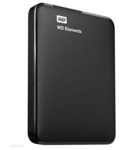 """Продам абсолютно новый """"WD Elements"""" 500Gb USB 3.0"""