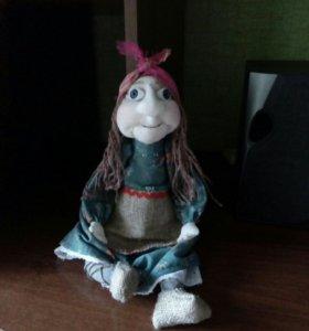 Кукла бабуська Яга.