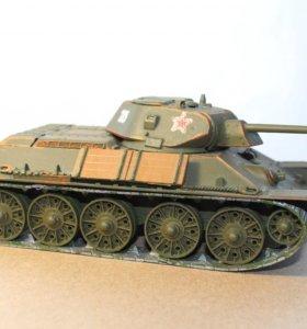 Готовая модель танка Т-34\76 1:35