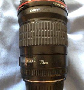 Canon EF 135mm 2 L USM