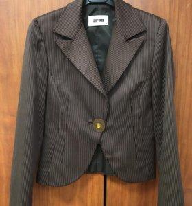 Жакет пиджак 42 классический + брюки в подарок