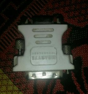 VGA (переходник DVI на VGA)
