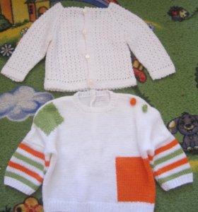 Кофточки и свитерочки вязанные