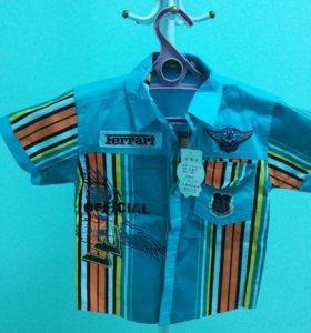 Рубашка для мальчика, 5 лет