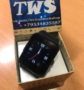Умные часы GT08 (Smart Watch) смарт часы черные
