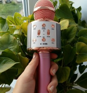 Bluetooth Колонка-микрофон новая C-335