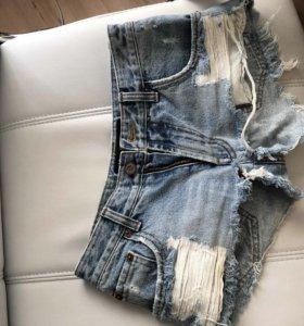 Шорты джинсовые на 40 размер XS