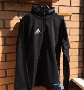 Спортивная кофта с молнией и воротником Adidas XS