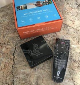 Цифровая приставка ip tv Ростелеком