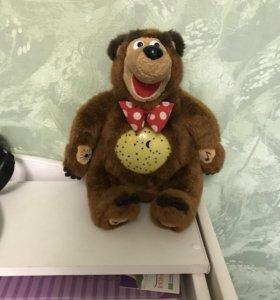 Мишка Маша и медведь
