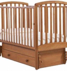 Кроватка- маятник детская с о до 4 лет