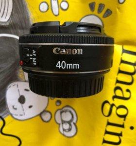 Canon EF 40mm 2.8 STM