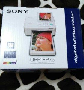 Цифровой фотопринтер Sony DPP-FP75