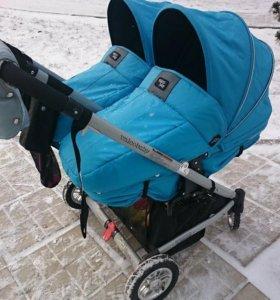 Коляска для двойни Valko baby duo