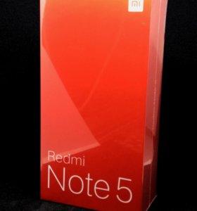 Redmi Note 5, Global, 3/32GB, Gold, запечатан