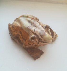 Статуэтка Жаба лягушка из камня