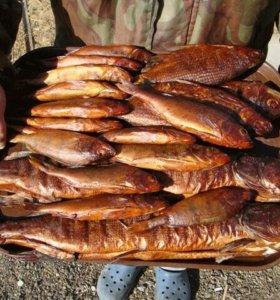 Рыба копчёная на ольхе