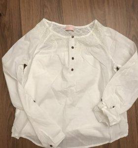 Блуза хлопок