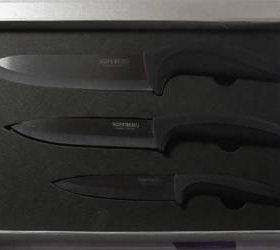 Ножи керамические, набор. Новый