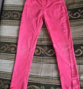 Яркие штаны на девочку, 116-122