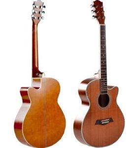 Новые акустические гитары фирмы Deviser L-705