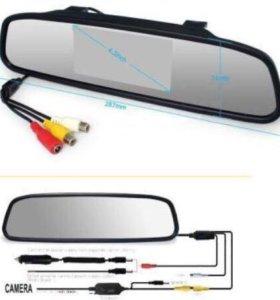 Зеркало-монитор с камера заднего вида