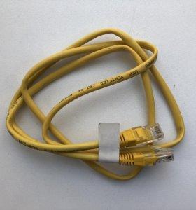 Компьютерный сетевой кабель 1 метр