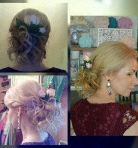 Плетение кос. Прически
