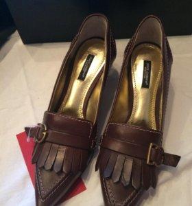 Туфли Dolce&Gabbana новые.