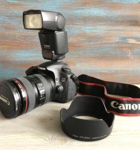 Canon 60D + Canon 24-70mm f/4L + Canon 430EX