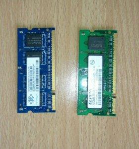 Оперативка для ноутбука ddr2 1gb