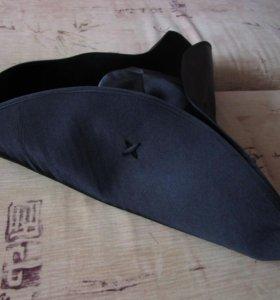 Пиратская шляпа-треуголка 55-56 р-р