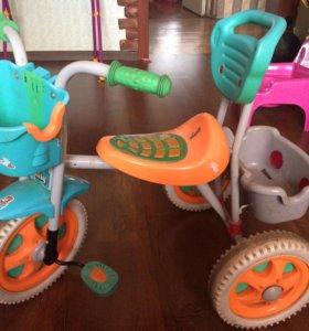 Детский 3-ех колесный велосипед