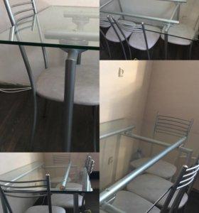 Стол и 4 стула