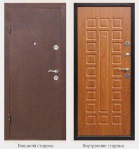 Металлические двери, по доступным ценам!